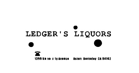 Ledger's Liquor